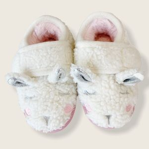 Plush Bunny Slippers Toddler Size 5-6